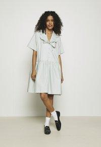 Résumé - DELMARA DRESS - Shirt dress - dusty green - 1