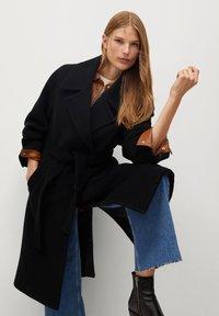 Mango - TRINI - Classic coat - schwarz - 3