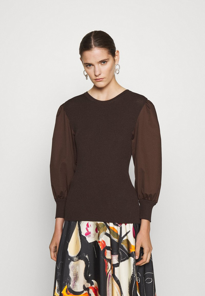 RIANI - Jumper - onyx brown