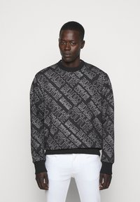 Versace Jeans Couture - MAN LIGHT - Sweatshirt - nero - 0