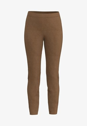 Leggings - Trousers - walnut