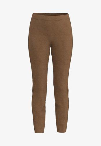 Leggings - Trousers - walnut