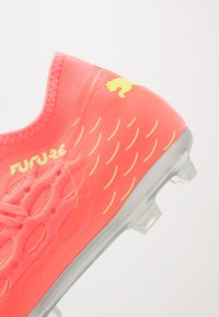 Puma - FUTURE 5.3 NETFIT OSG FG/AG - Moulded stud football boots - energy peach/fizzy yellow - 5