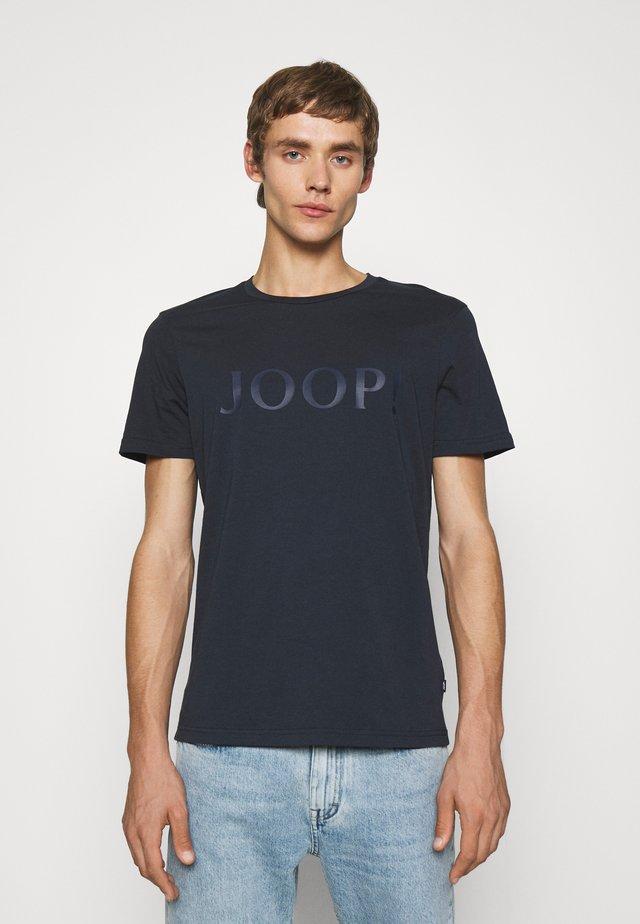 ALERIO - Print T-shirt - dark blue