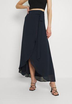 DILLY SKIRT - Maxi skirt - navy