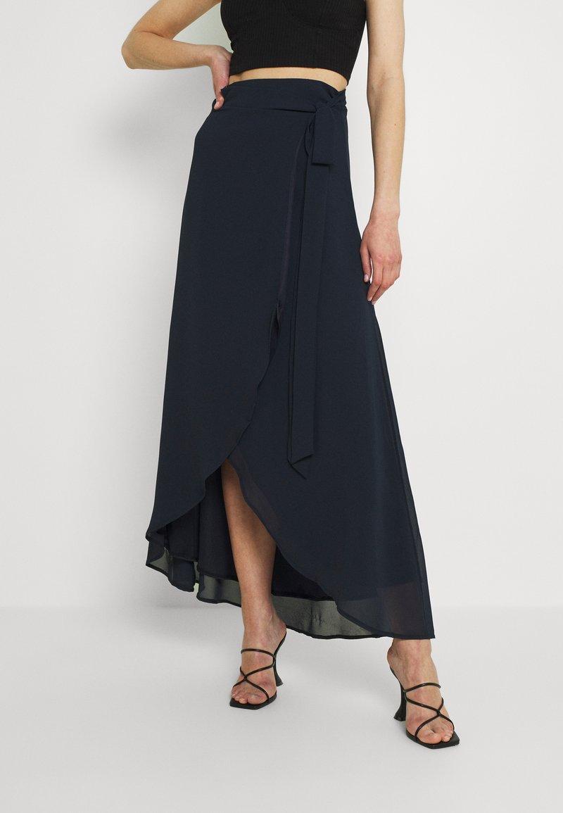 TFNC - DILLY SKIRT - Maxi skirt - navy