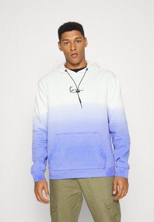 SMALL SIGNATURE GRADIENT HOODIE UNISEX - Majica s kapuljačom - blue