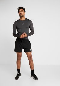 HIIT - CORE MUSCLE TEE - T-shirt à manches longues - charcoal - 1