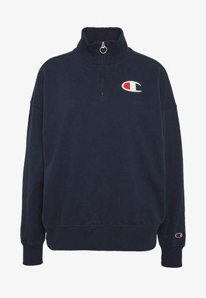 HIGH NECK - Sweatshirt - dark-blue denim