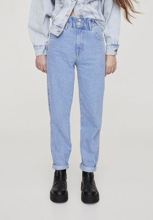 Jean droit - blue-black denim