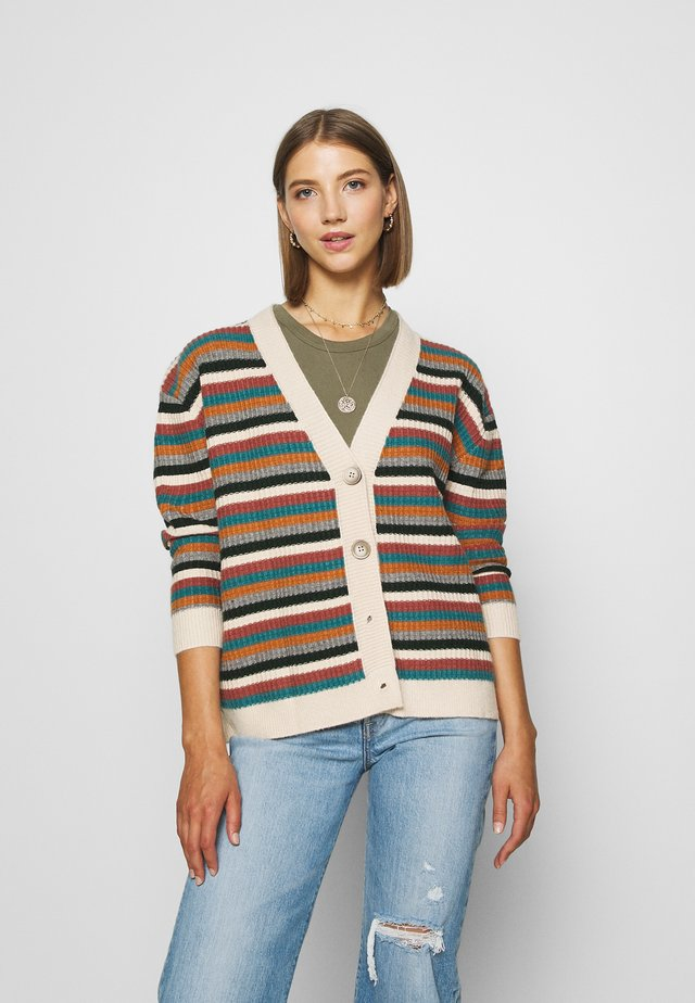 LADIES CARDIGAN - Cardigan - multicolour