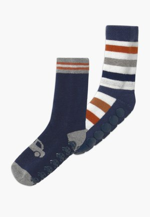 CARS STRIPES  2 PACK - Socks - navy