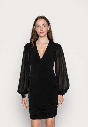 SLEEVE DRESS - Cocktail dress / Party dress - black
