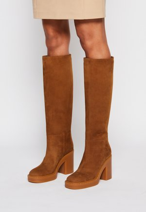 High heeled boots - rodeo