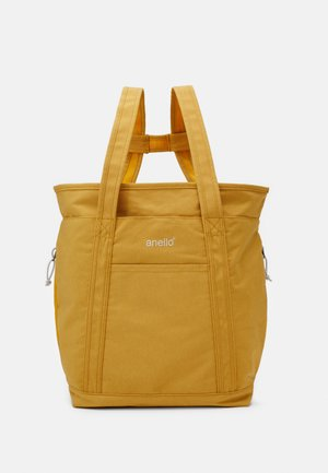 2WAY TOTE BACKPACK UNISEX - Tagesrucksack - yellow