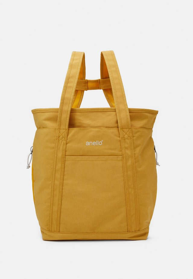 2WAY TOTE BACKPACK UNISEX - Rugzak - yellow