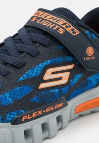 Skechers - FLEX GLOW - Trainers - navy/blue/orange - 5