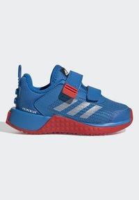 adidas Performance - X LEGO SPORT RUNNING ACTIVE PRIMEBLUE - Juoksukenkä/neutraalit - blue/white/red - 5