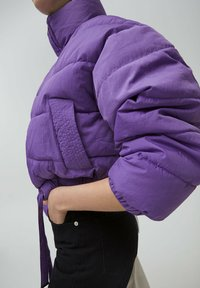 PULL&BEAR - Winter jacket - mottled purple - 4