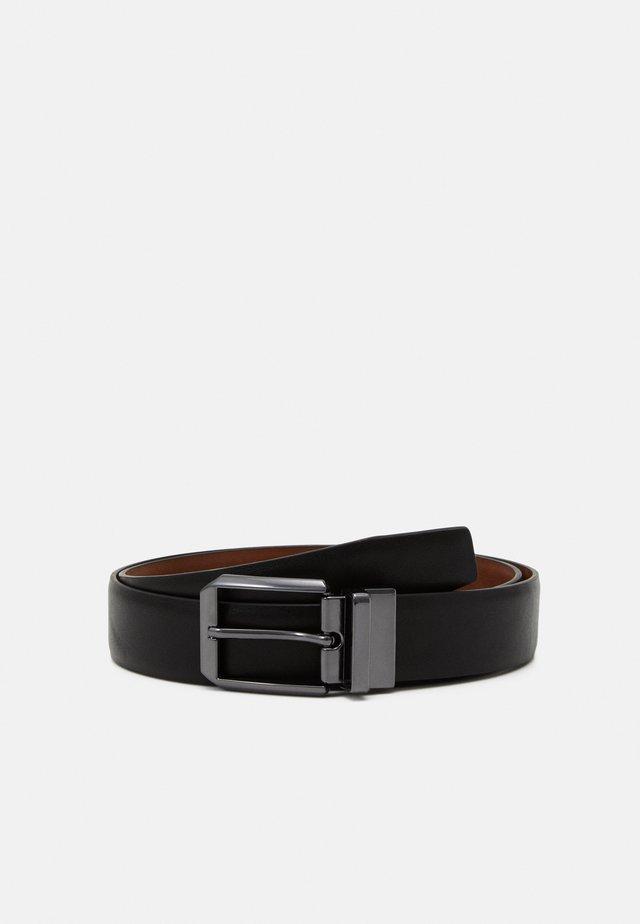 Pásek - black/brown