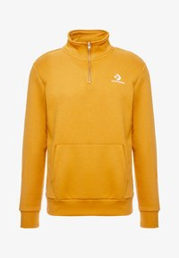 Converse - STAR CHEVRON HALF ZIP - Sweatshirt - wheat - 4