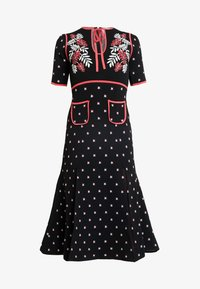 Alice McCall - LADY DAY MIDI DRESS - Pletené šaty - black - 6