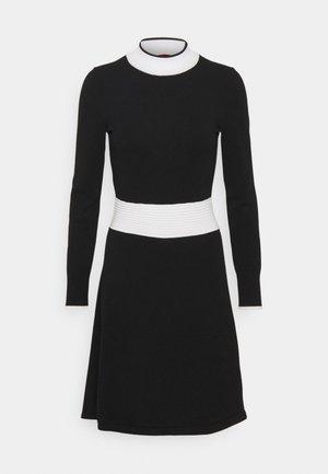 SUMERY - Vestido de punto - black