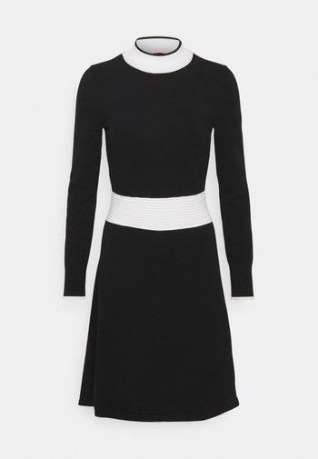 SUMERY - Jumper dress - black