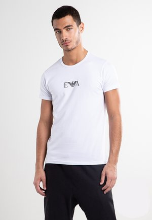 2 PACK  - T-shirt con stampa - white