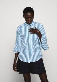 Sportmax Code - Button-down blouse - azurblau - 5