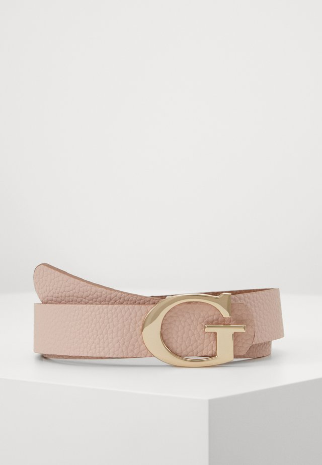 PANT BELT - Belt - taupe/blush