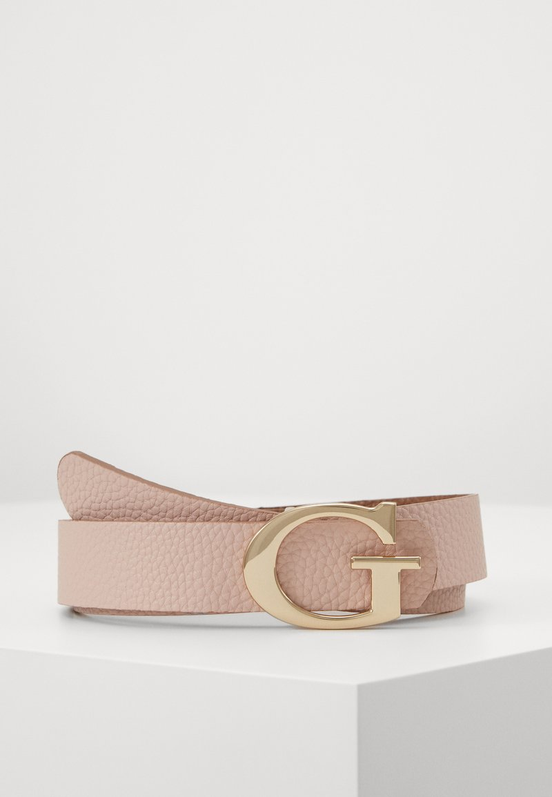 Guess - PANT BELT - Belte - taupe/blush
