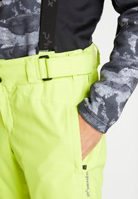 Phenix - ARROW - Pantaloni da neve - yellow green - 4