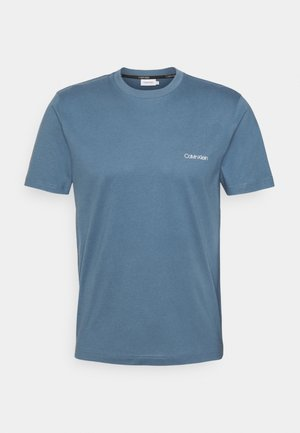 CHEST LOGO - Basic T-shirt - blue