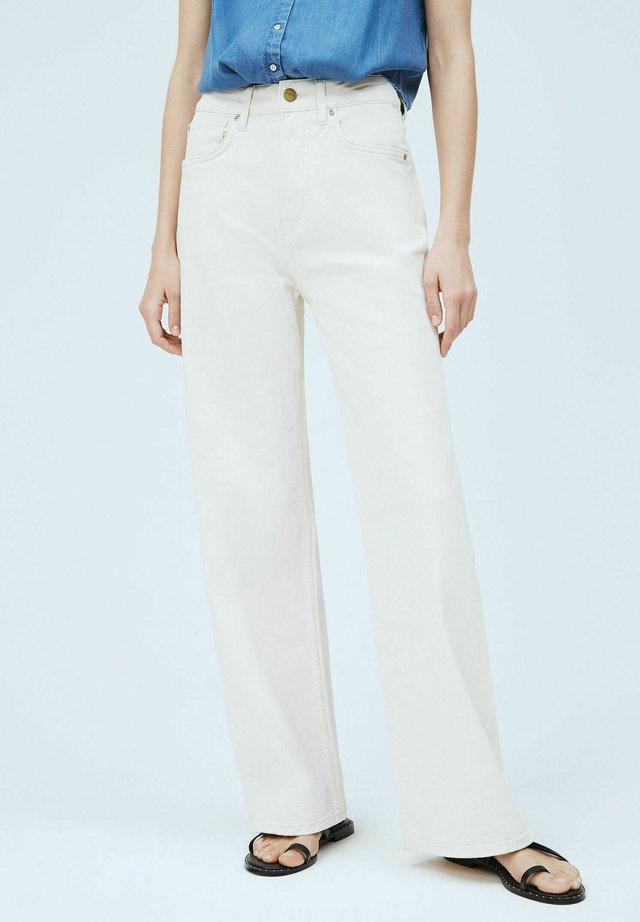 LEXA SKY HIGH - Flared Jeans - denim