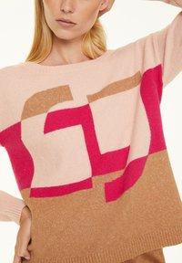 comma - Jumper - block stripe knit - 3