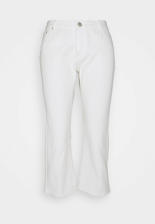 CROPPED  - Jean flare - white