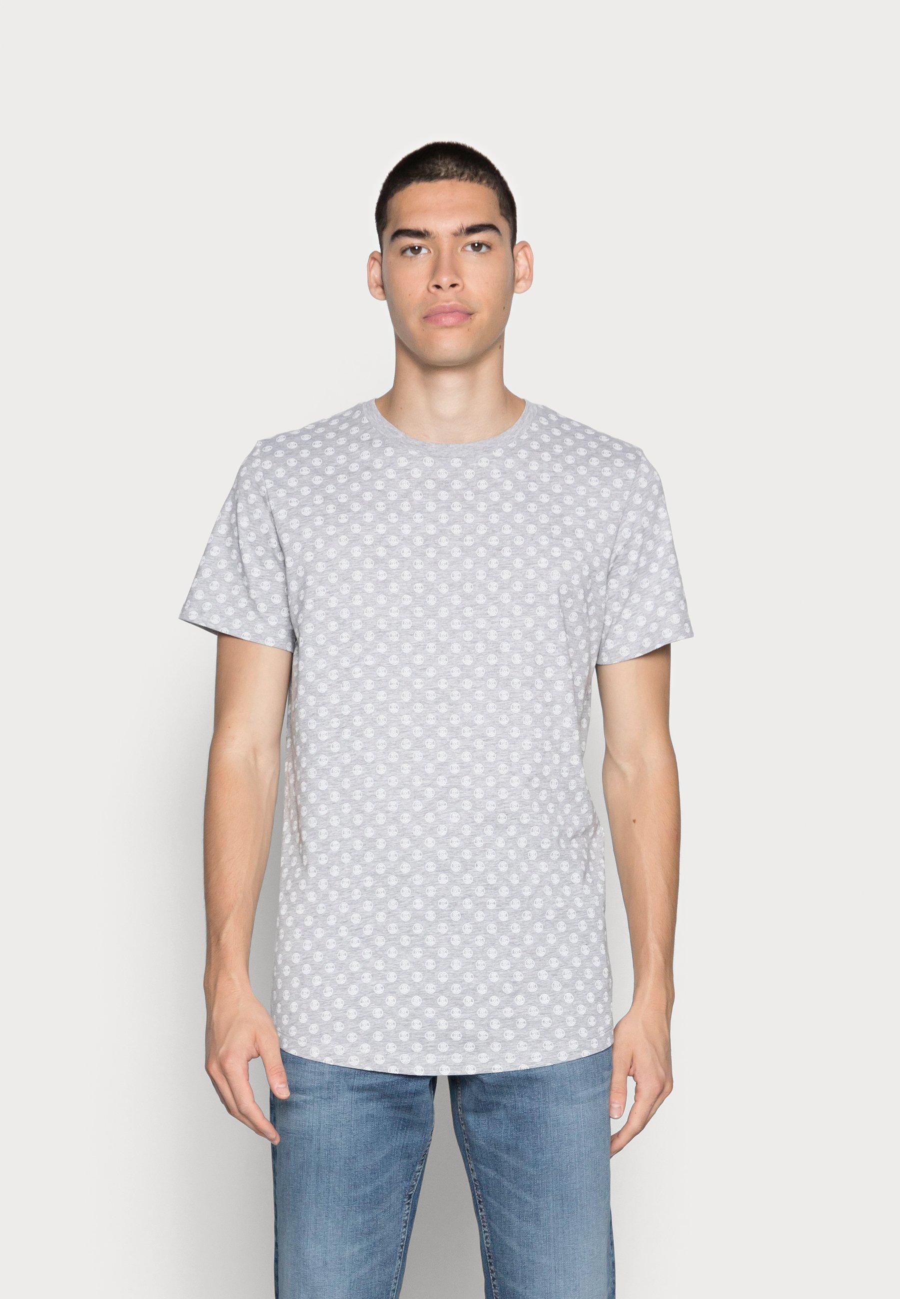 Men JJROSS TEE CREW NECK - Print T-shirt