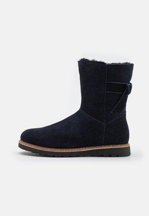 LEATHER - Bottes de neige - dark blue