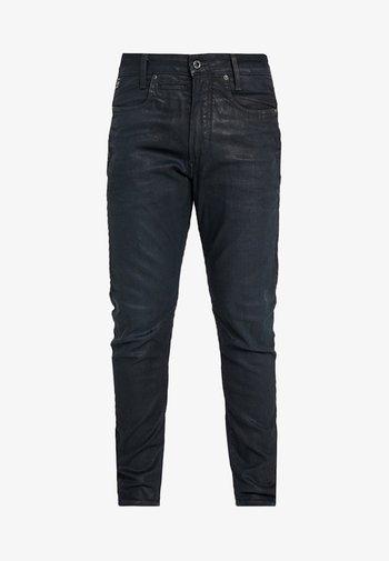 D-STAQ 3D SLIM - Slim fit jeans - elto superstretch - dk aged waxed cobler