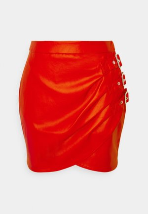 ELLIS SKIRT - Minisukně - rough red