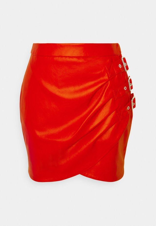 ELLIS SKIRT - Mini skirts  - rough red