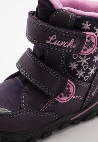 Lurchi - KIRI-SYMPATEX  - Winter boots - aubergine - 5
