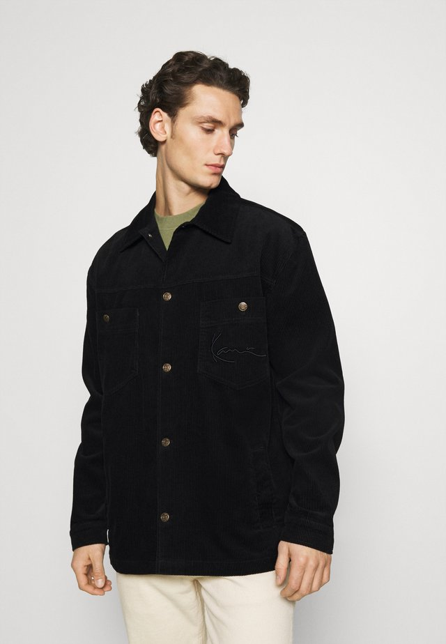 SIGNATURE JACKET - Shirt - black