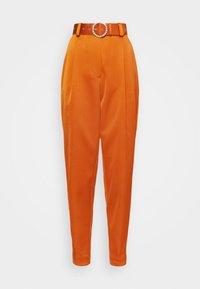 Cras - SALINACRAS PANTS - Kalhoty - rust - 5