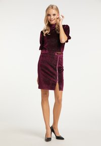 myMo at night - Blouse - bordeaux - 1