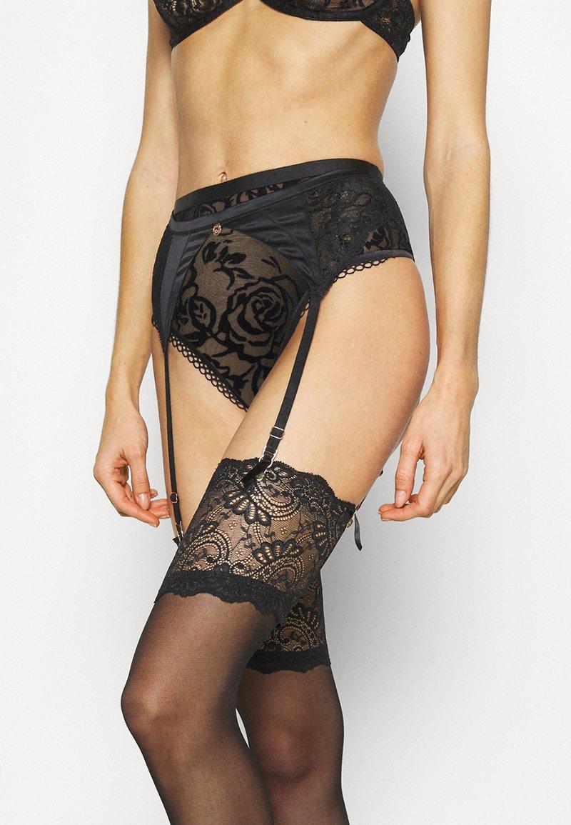 Marks & Spencer London - ROSIE SUSPENDER - Strømpeholdere - black