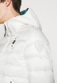 Blauer - GIUBBINI CORTI IMBOTTITO - Down jacket - white - 6