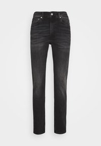 Calvin Klein Jeans - SLIM TAPER - Slim fit jeans - washed black - 4