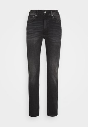 SLIM TAPER - Jeansy Slim Fit - washed black